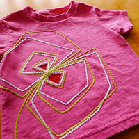 Geo Flower . Toddler T-Shirt