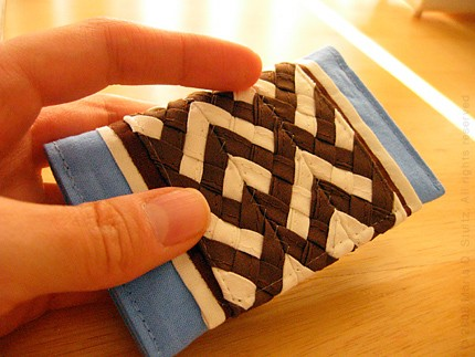 mini wallet by Maria Stultz